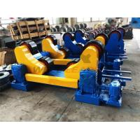 China Standard 20 Ton Industrial Pipe Welding Rotator PU Rollers For 20m Pipes Welding wholesale