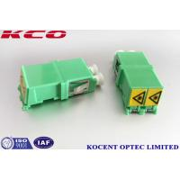 Buy cheap Single Mode Optical Fiber Adapter Duplex Auto Shutter LC/APC LC/UPC Without from wholesalers