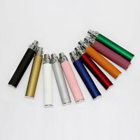 China White / Silver Ego e Cig Batteries 650mAh With CE4 Series / Aero Tank Mt3 , Usb Charger on sale