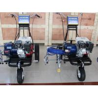 Large parking lots road marking paint machine highway for Parking lot painting equipment