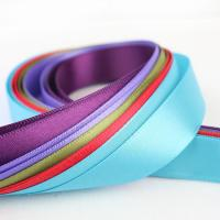 Buy cheap Smooth Double Faced Satin Ribbon , Eco Friendly Silver Satin Ribbon from wholesalers