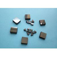 China Wood Woking Stone Metal Cutting PCD Die Blanks , Tips Inserts PCD Square Blanks For Cutting Stone wholesale