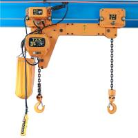 China Twin Hook TXK Electric Chain Hoist 2 Ton With Electric Trolley For Factory wholesale