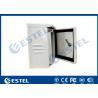 China IP55 Single Wall Pole Mounted Cabinet / Enclosure/ Small Metal Box wholesale