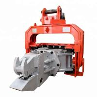 China High Efficiency Hydraulic Pile Hammer Changeable Gear For Sheet Piles Pulling on sale