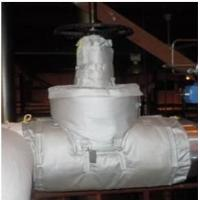 China High Heat Pipe Insulation Material / Aerogel Insulated Pipe Covers Removable wholesale