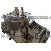 Buy cheap Stainless Steel Manual Top Discharge Clean Basket Centrifuge , Full Cover from wholesalers