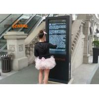Buy cheap Full outdoor interactive digital signage touchscreen kiosk for shopping mall from wholesalers