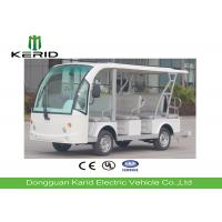 Buy cheap Battery Operated Electric Sightseeing Car With 11 Seats Low Noise Long Service from wholesalers