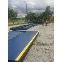 Buy cheap 3 X 20m Truck Weigh Scales 100 Ton 120 Ton 150 Ton Digital Truck Scale / Weighbridge from wholesalers