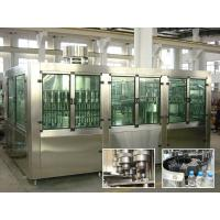 China Drinking Pure Water Filling Machines With Rinser 40 / Filler 40 / Capper 10 wholesale