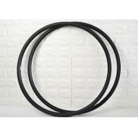 China 24mm Carbon Road Rims V Shape 700c Light Weight With Basalt Brake Surface wholesale