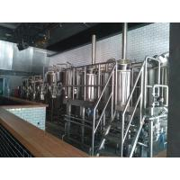 Quality 50 HL Commercial Micro Beer Brewing Equipment With Steam Heating for sale