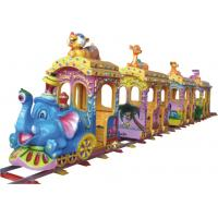 China KAIQI Amusement Park Train , Molded Surface Train Rides For Kids Customized Dimension wholesale
