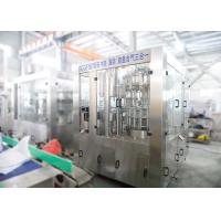 China Automatic Carbonated Drink Filling Machine , Gas Cold Drink Bottle Filling Machine on sale
