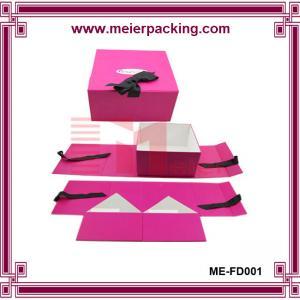 China China Supplier Custom Gloss Folding Cardboard Box Wholesales folding style rigid setup tea bag card pape on sale