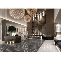 China Contemporary Hotel Lobby Furniture Fabric Barstool With Bar Counter wholesale