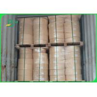 Buy cheap Virgin Wood Pulp 60gsm 120gsm Food Grade Kraft Paper Roll For Straws Making from wholesalers