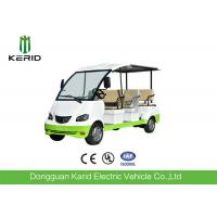 Buy cheap Curtis Controller 48V Electric Sightseeing Car / Electric Passage Car 8 Seaters With Onboard Charger from wholesalers