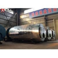 China 95% High Efficiency Wns Natural Gas Diesel Oil Fired Hot Water Boiler on sale