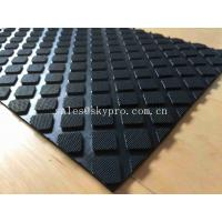 Quality Hardness Rubber Matting Square Rubber Flooring Mats With 60-80 Shore A Hardness for sale