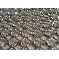 China Architecture Decoration Stainless Steel Metal Ring Mesh for Room Divider Curtain on sale