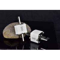 Buy cheap 500V Size 00 63A HRC Fuse Link High Breaking Capacity White Color from wholesalers