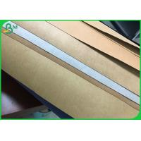 Gold / Silver / Red And Blue Fiber Paper Washable Kraft Paper For Making