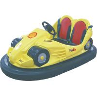 China Yellow Amusement Park Facilities Dodgem Cars The Newest Fun Electric Bumper Car wholesale