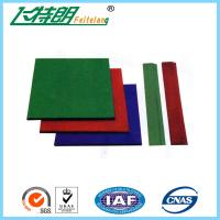 China Wear Resistance Outdoor Playground Rubber Tiles , Safety Kids Floor Pads wholesale