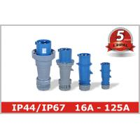 Quality Impact Resistance 230V Industrial Plugs 32 Amp 3 Phase Socket One phase for sale