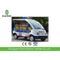 Buy cheap 4 wheels Battery Powered Electric Passenger Car / Security Patrol Bus With Alarm from wholesalers
