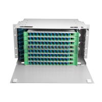 China Drawer Type Optical Fibre Frame Networking ODF For Telecom Network wholesale