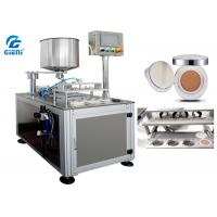 China Four Nozzles Cosmetic Filling Machine SUS304 For Air Cushion / CC Cream wholesale