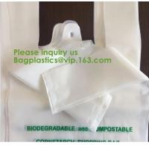 China custom printed logo biodegradable compostable trash dog poop bag for kitchen waste,100% Biodegradable Bags Compostable M on sale