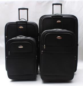 China stock 4pcs luggage case,travel bag     stocklot  luggage wholesale