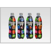 China Printed Heat Shrink Bottle Sleeves , Personalized Labels For Water Bottles wholesale