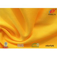 China Waterproof stretch Polyester spandex Knitted fabric for school sports uniform wholesale