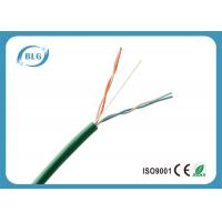 Buy cheap 2 Pairs 4 Cores UTP Telephone Line Cable With 24AWG Bare Copper Conductor from wholesalers