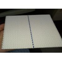 China White Cotton Conveyor Belt For Stackers , 4 Ply Corrugator Belt for transport on sale