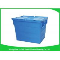 China 600*400*462mm Heavy Duty Moving Turnover Crate Wholesale Plastic Storage Containers wholesale