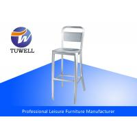 Details Of Metal Emeco Navy Stool Replica With Aluminum Material W41 D53 H76