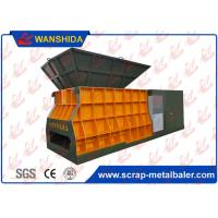 Buy cheap WANSHIDA Horizontal Type Container Scrap Shear 1400x400mm Output Mouth For Waste Metal Scrap from wholesalers