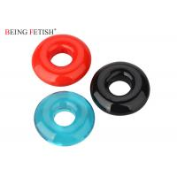 China Super Screaming Stretchy Silicone Pleasure Ring O Ring Vibrator With Assorted Colors wholesale