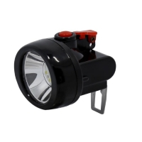 China Cordless Portable IP65 LED Mining Cap Lamp FCC For Mineral Industry , Miner Cap Light wholesale