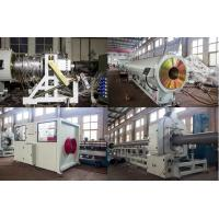 China High Output PVC Pipe Production Line Double Screw Extruder Low Electric Consumption wholesale