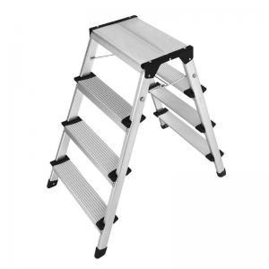 China Anti Slip 6063 Aluminum Step Stool 2x4 Durable Aluminum Folding Step wholesale