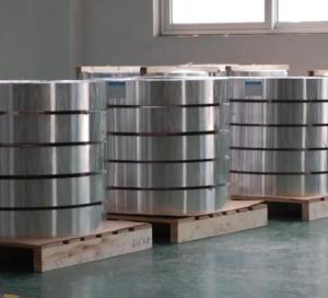 China 3003 h19 aluminium strip for insulating glass / Aluminum Spacing Strip wholesale