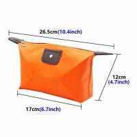 China Travel Cosmetic Bags Waterproof Fabric Small Makeup Clutch Pouch Cosmetic and Toiletries Organizer Bag Portable Travel on sale