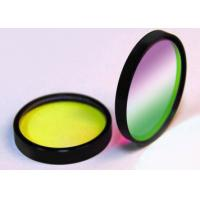 Buy cheap Optical Negative / Notch Colored Glass Filters For Biomedical Laser Systems from wholesalers